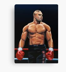 Alistair Overeem painting Canvas Print