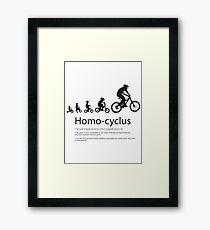 Bike Evolution  Framed Print