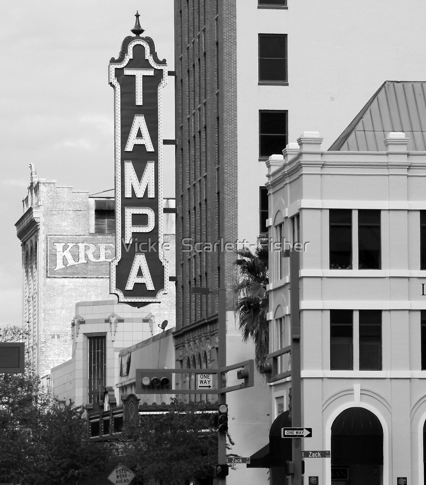 Tampa Kress sign by Vickie  Scarlett-Fisher