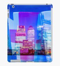 A very corporate mugging @londonlights iPad Case/Skin