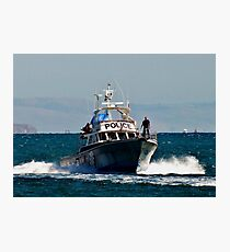 WATER POLICE-South Australia Photographic Print