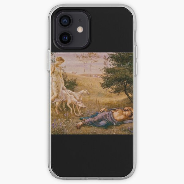 """""""Diana and Endymion"""" by Walter Crane (1887) iPhone Soft Case"""