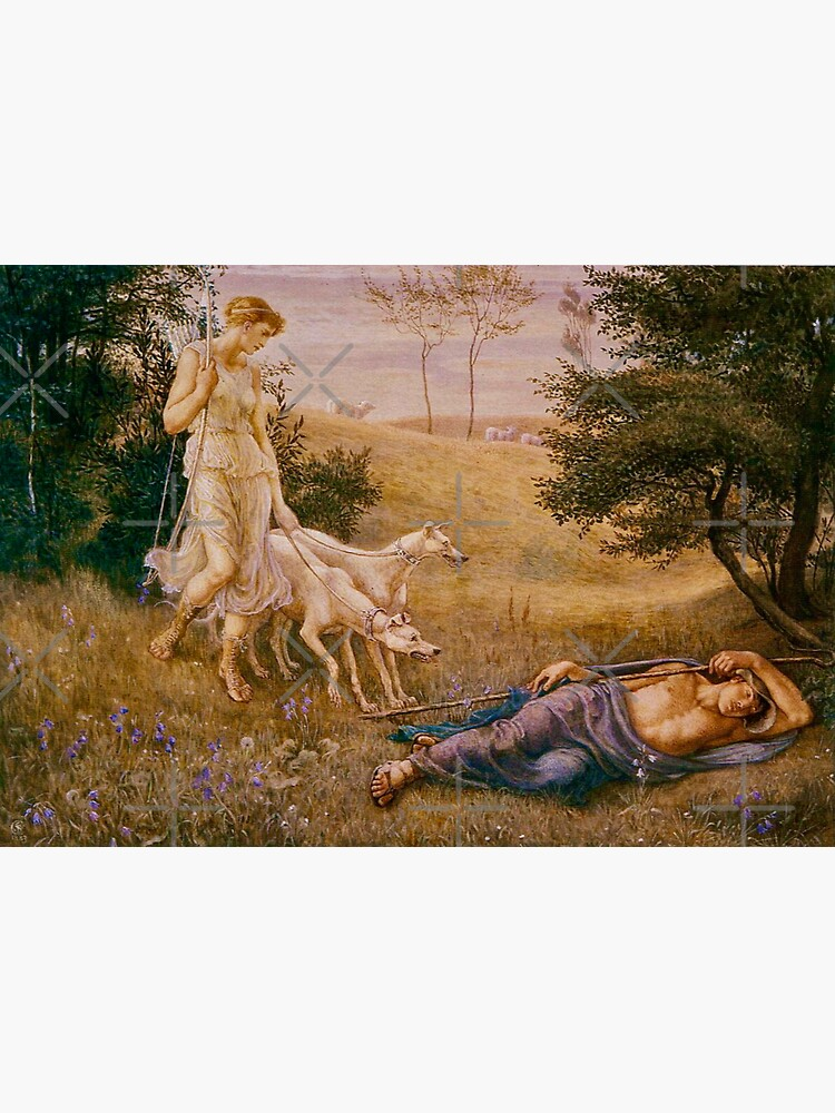 """""""Diana and Endymion"""" by Walter Crane (1887) by SistarSprkls"""