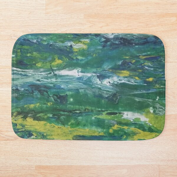 Teal For Real Bath Mat