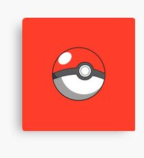 pokeball design Canvas Print
