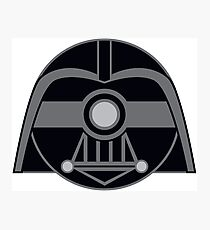Darth Vader Pokemon Ball Mash-up Photographic Print