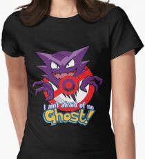 Haunter Busters! Womens Fitted T-Shirt