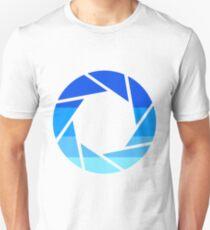 70s Modern Portal Aperture Logo (Cold) Unisex T-Shirt