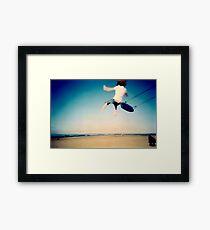 Lomo - And then you let go... Framed Print