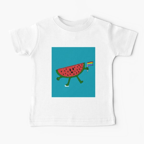 Supportive Watermelon Baby T-Shirt