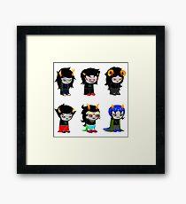 Homestuck Alpha Troll Ladies Framed Print