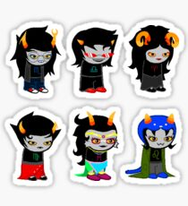 Homestuck Alpha Troll Ladies Sticker