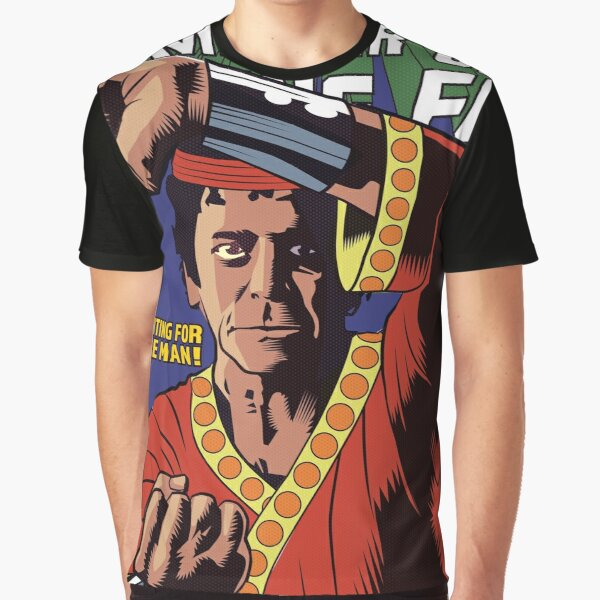 Waiting For The Man Graphic T-Shirt