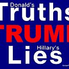 Truths TRUMP Lies by EyeMagined