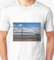 Forth Road Bridge, Scotland Unisex T-Shirt