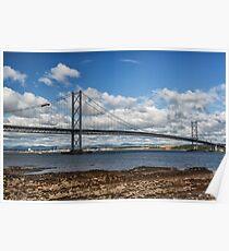Forth Road Bridge, Scotland Poster