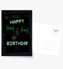 Player One (Birthday card) Postcards