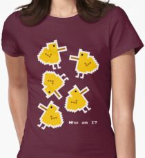 Existential chicks Womens Fitted T-Shirt