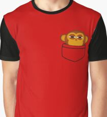 Pocket monkey is highly suspicious Graphic T-Shirt