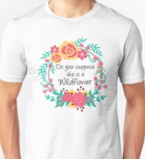 Alice Wildflower Unisex T-Shirt