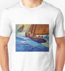 Fishing off the Grand Banks II T-Shirt