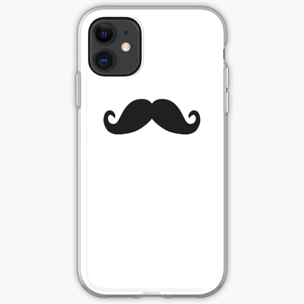 Mustache iPhone Soft Case