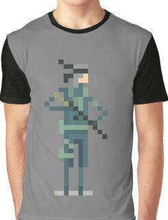 Metal Gear's - Solid Snake Graphic T-Shirt