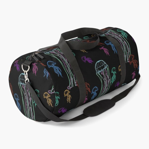 Neon Jelly Duffle Bag