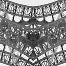 Eiffel Tower Abstract by iamsla