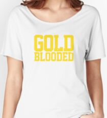 GOLD BLOODED WARRIORS Women's Relaxed Fit T-Shirt