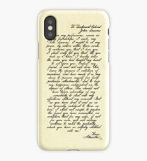 Alex & John Letter iPhone Case/Skin