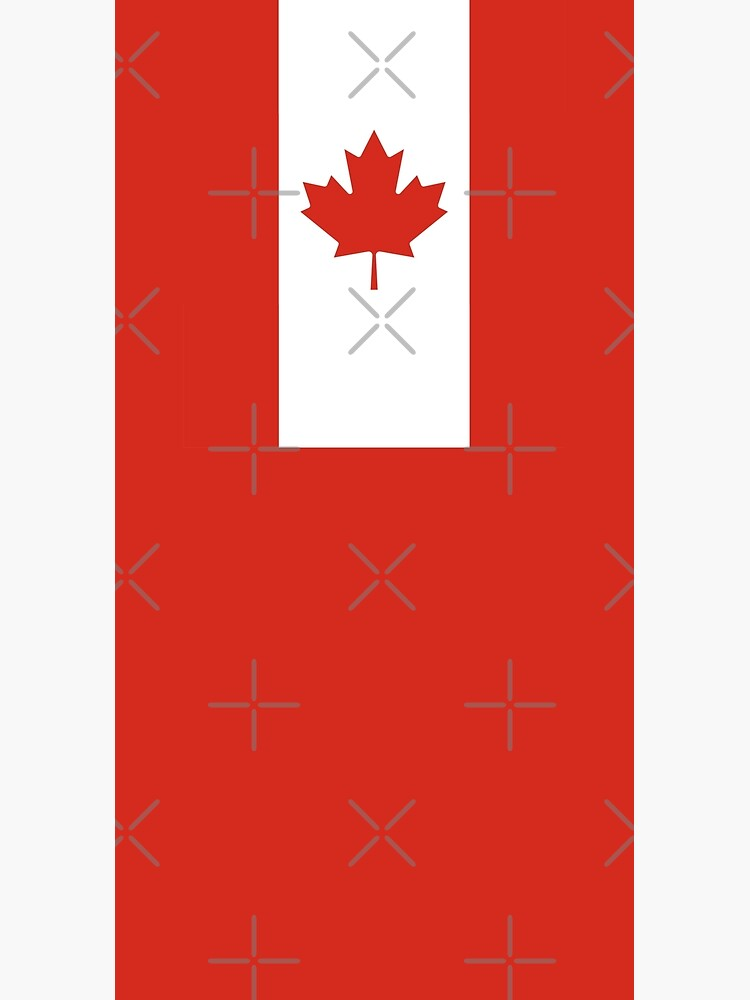 Canadian Flag Vertical Banner by asimplefool321