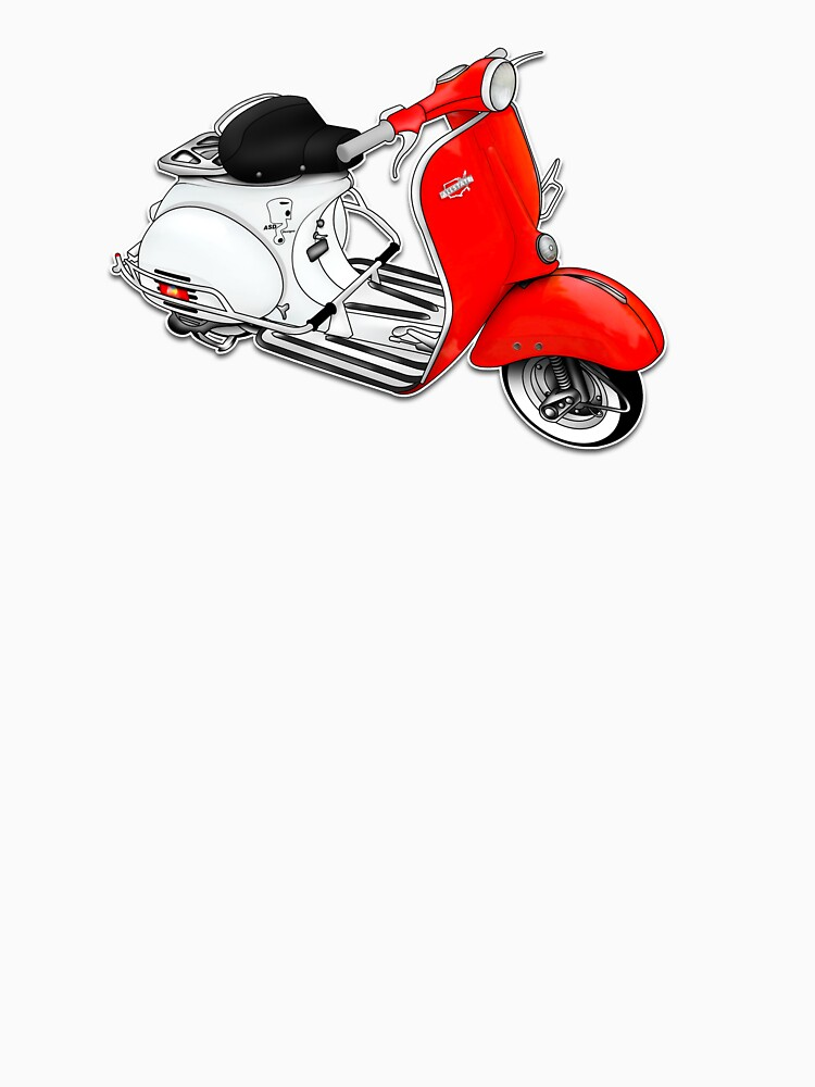 Scooter T-shirts Art: 1960 Allstate Scooter Design by yj8dsk57