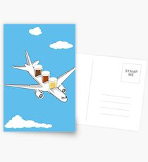 Beer Flight Postcards