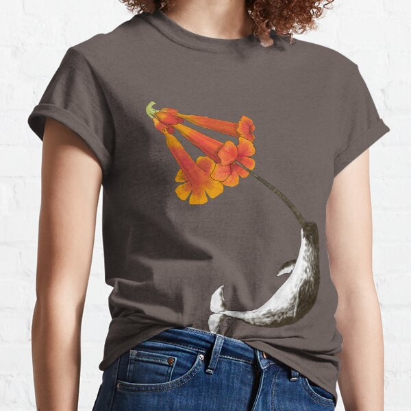 Feeding Habits of the Narwhal Classic T-Shirt