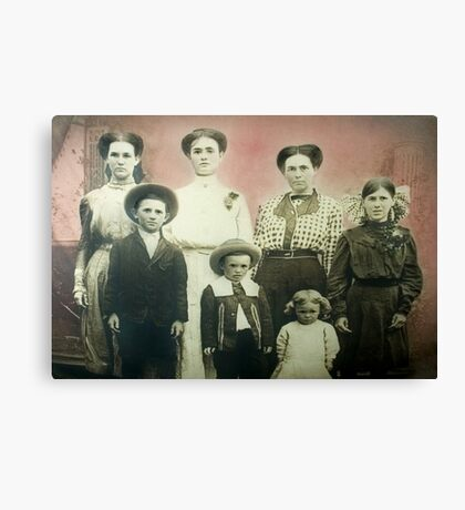 The Findley Family Canvas Print