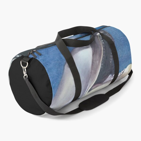 Dolphin Oil Painting Duffle Bag