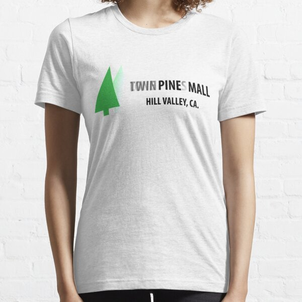 Twin Pines/Lone Pine Mall – BTTF, Optical Illusion Essential T-Shirt