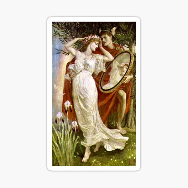 """""""Art and Life"""" by Walter Crane (1885) Sticker"""