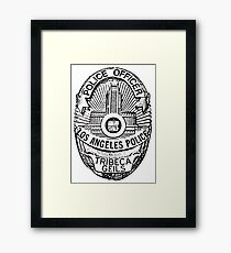 Tribeca's Shield Framed Print