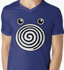 Poliwhirl Men's V-Neck T-Shirt
