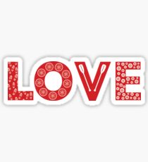 I Love Lynchburg Sticker Challenge Sticker