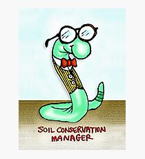 Soil Conservation Manager Photographic Print