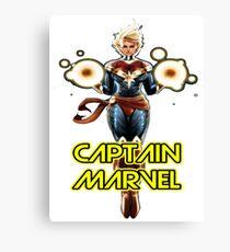 CAPTAIN MARVEL SUPERHERO Canvas Print