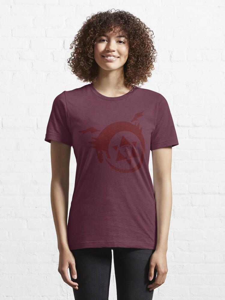 Alternate view of FMA - Ouroboros Essential T-Shirt
