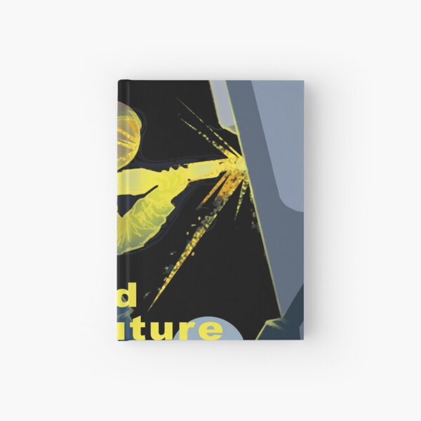 Build Your Future On The Moon Hardcover Journal