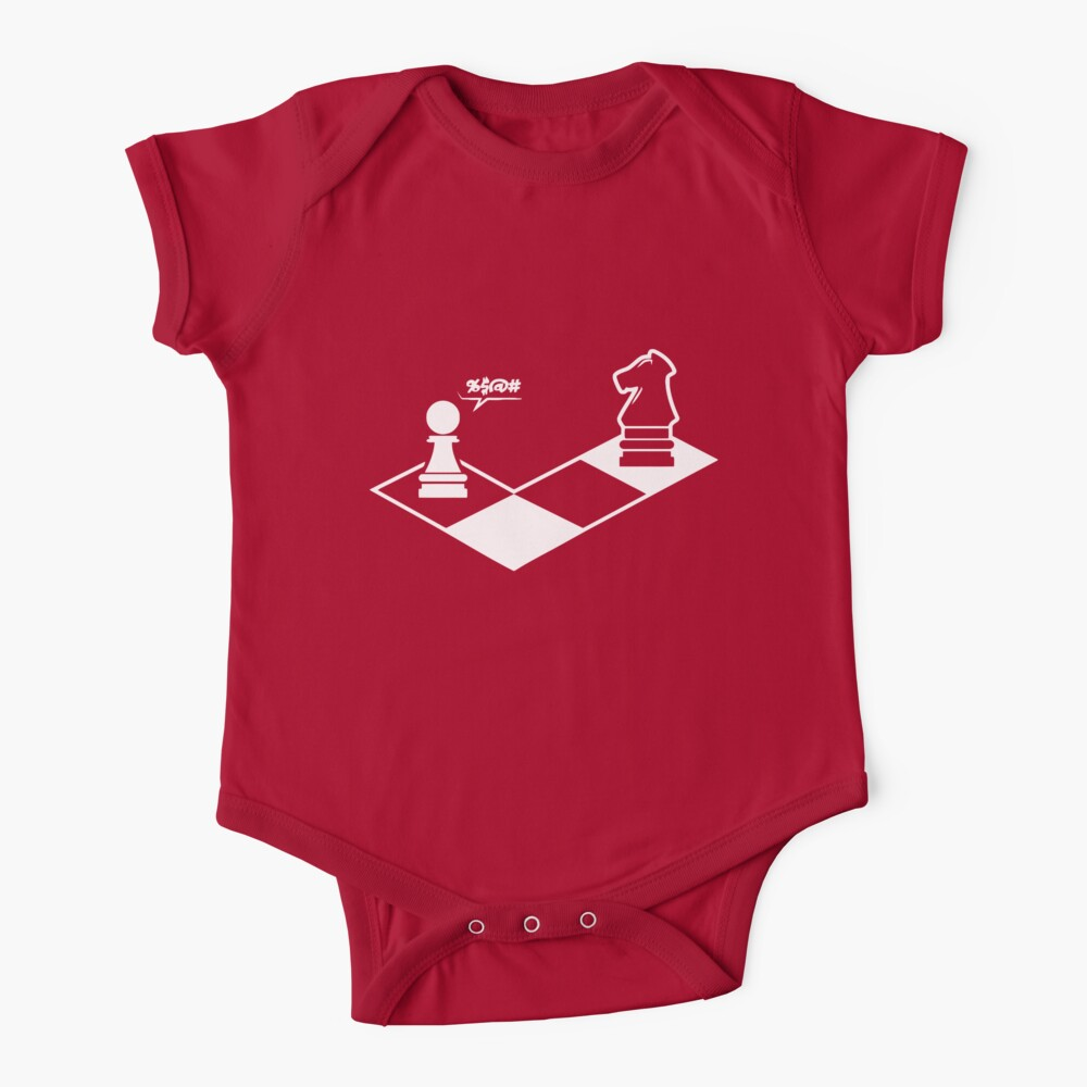 funny chess shirt chess player  Baby One-Piece