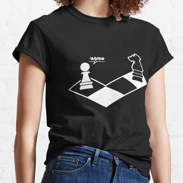 funny chess shirt chess player  Classic T-Shirt