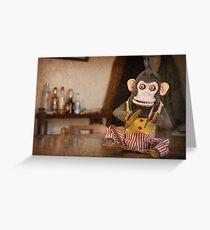 Monkey Shines Greeting Card