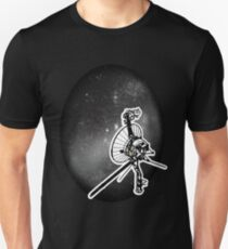 Die interstellare Mission (Voyager) Slim Fit T-Shirt